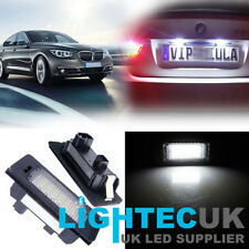 2PCS LED LICENSE NUMBER PLATE LIGHT BMW 3 5 SERIES E90 E92 F30 F35 M3 E39 E60 M5