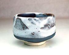 Japanese Green Tea Ceremony Chawan Tea Cup #47017 Shinyuki New Snow Minoyaki