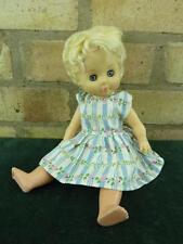 """Bambole vintage Rosebud 12"""" con Occhi Blu chiaro che indossa VESTITINO potrebbero aver bisogno di TLC"""
