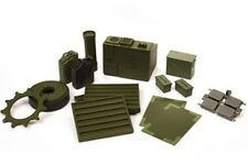 VsTank: VSPro 1/24th Scale Accessories: Abrams M1A2 Air Conditioner Set - Green