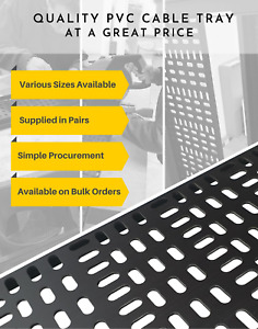 19 inch equipment rack PVC Cable Tray
