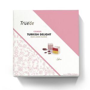 200g Combo Turkish Delight Rose & Lemon Present Big Box Christmas gift New year