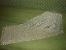 Beautiful hand knitted down Orenburg Shawl/Scarf