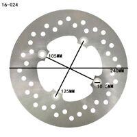 Rear Brake Disc Rotor For Honda FJS 400 600 /FSC 600 /SW-T 400 01-09 30NF04