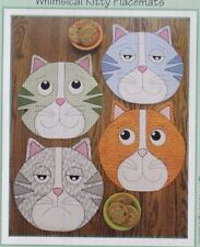 PATTERN - Kippers - whimsical cat Placemats PATTERN - Susie C Shore