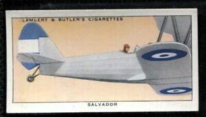 Lambert Butler, AEROPLANE MARKINGS, 1937, Salvador Military Aviation, #38