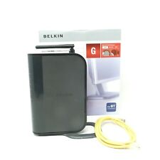 Belkin ADSL Modem with Wireless G Router and Wireless G