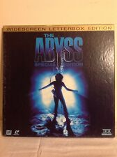 THE ABYSS Widescreen Letterbox Edition Laserdisc