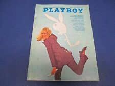 Playboy Magazine, March 1969,Hieronymus Merkin Sexiest Film,Tyding Gun Control