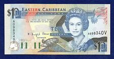 East Caribbean States, St Vincent 1993 $10, 10 Dollar, Uncirculated (Ref. b0266)