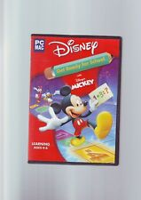 DISNEY'S GET READY FOR SCHOOL WITH MICKEY - PC & APPLE MAC EDUCATIONAL GAME  VGC