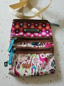 Lily Bloom Crossover Messenger bag 19x24cm New