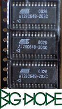 1 x AT28C64B-20SC 64K 8Kx8 parallelo EEPROM pagina scrivere i dati di software e proteggere