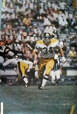 RARE ANDY RUSSELL STEELERS NFL 1968 VINTAGE ORIG SPORTS ILLUSTRATED SI POSTER