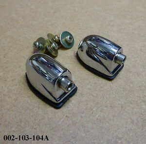 PAIR of Snare Drum / Tom Tom Tension Lugs / Brackets - Single Ended 002-103-104A