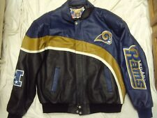 JH STL Rams Jacket Leather Adult Size XXL New WIthout Tags!