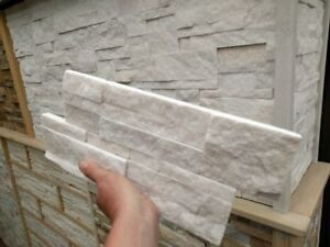 Stack stone stacker 350x180mm zig zag strong water resistant 20mm thick Quartz