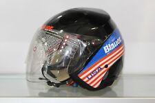 Helm Blauer Boston Black USA Größe L
