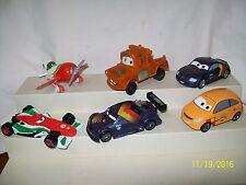 Disney Pixar Cars Lot of 6 PVC Pietro Otto Chupacabra Schnel Francesco Mater