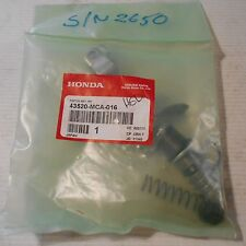 GENUINE HONDA PARTS PISTON SET REAR MASTER CYLINDER GL1800 GOLDWING 43520-MCA-01