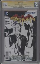 BATMAN #19 - B&W VARIANT - SIGNED BY CAPULLO AND SNYDER - CGC 9.6 - 1289764003