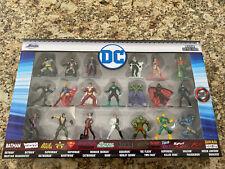 """Jada Toys Nano Metalfigs DC Marvel Die-Cast Figures 20 Pack 1.65"""" *NEW*"""