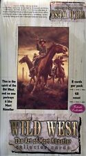WILD WEST THE ART OF MORT KUNSTLER  SEALED BOX 48 PACKETS