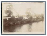 Russia, Crimea, Kertch (Керч), Kertch Factory  vintage citrate print Tirage ci