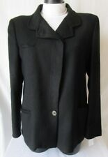 SIETTE GIACCA lunga Jacket TG.44/46 Stimata, colore Nero #S