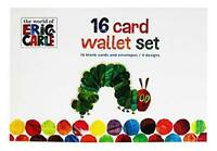The Hungry Caterpillar 16 Card Wallet Set 16 Blank Cars & Envelopes 4 designs