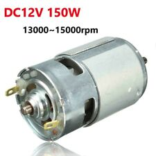 DC12V-24V 150W 13000-15000rpm 775 Motor Micro High Speed Power 5mm Shaft