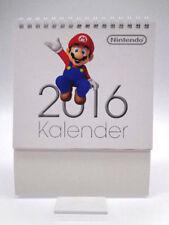 Kalender - Nintendo Kalender 2016