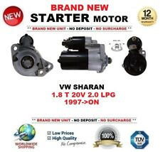 FOR VW SHARAN 1.8 T 20V 2.0 LPG 1997-ON BRAND NEW STARTER MOTOR 1.1kW 9-Teeth