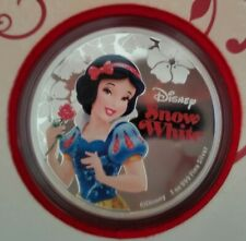 Disney 2015 Snow White .999 1 oz Silver Proof Coin Niue New Zealand Mint