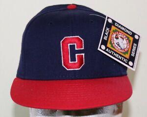 NEW Indianapolis Clowns 1949 Replica Negro League White Blue Cap Hat Size 7 3/8