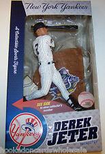 Derek Jeter NY Yankees 1999 World Series McFarlane MLB Baseball Figure