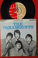 "PARAMOUNTS POISON IVY/I FEEL GOOD ALL OVER/BLUE RIBBONS..RARE UK PROMO 7""PS EP"