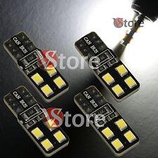 4 LED T10 Lampade 8 SMD 2835 Canbus Bianco No Errore Luci Posizione Xenon Targa