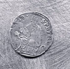 PAPAL STATES, BOLOGNA - BEAUTIFUL CLEMENT VII SILVER GROSSO, ND (1523-34)