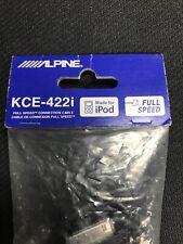 iPod iPhone to ALPINE IDA IVA CDA Radio Headunit Audio/Charge Cable KCE-422i