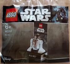Brand New Lego - R3-M2 Astromech Droid (2017) - Star Wars - 40268 - Polybag