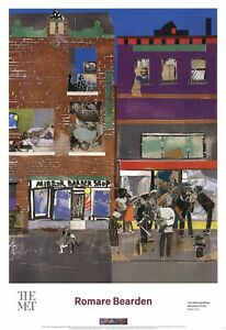 ROMARE BEARDEN The Block (detail) 35 x 24 Poster 2016 Multicolor