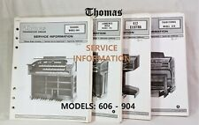 Thomas Organ Models 120-125,135,145-146 235 200-205 Pick 1 210-215 225