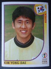 Panini Sticker 258 Kim Yong-Dae Korea WM 2002 Korea Japan