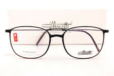 7273a6054b Silhouette Eyeglass Frames Urban Neo 2907 9040 Pure Black for Men Women