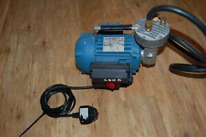 *Compton Compressors and Vacuum Pump  D/351VM/10/SP, Lafert LM63/4 motor 230v