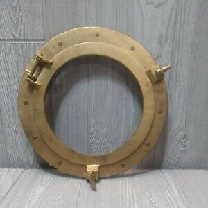 """Brass 8"""" Porthole Round Door Nautical Boat Ship Porthole Maritime Made In India"""