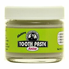 Uncle Harry's Natural & Fluoride Free Toothpaste - Anise (3 oz glass jar)