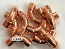 "COPPER LONG ELBOW 7/8"" INDUSTRY OD SIZE  10 PC"