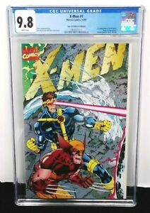 MARVEL X-MEN 1 CGC 9.8 1ST APP ACOLYTES MAGNETO APPEARANCE DOUBLE COVER NO ADS
